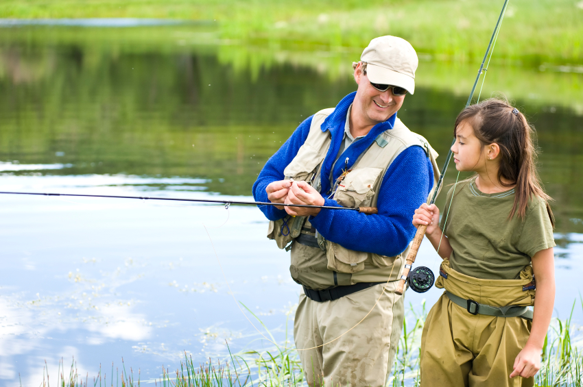 Three lessons my dad taught me about fly fishing 2 guys for Fly fishing classes near me