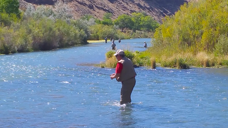 Fly fishing crowded waters 2 guys and a river for Owyhee river fly fishing